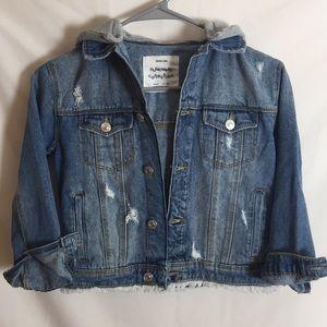 Zara Girls Jean Jacket size8